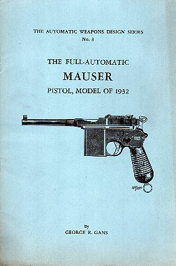 "1945 Mauser ""Broomhandle"" Booklet"