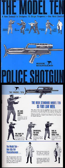1967-69 High Standard Model 10 Shotgun Catalog