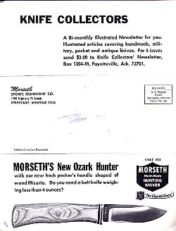 1972 Morseth Catalog