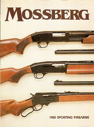 1983 Mossberg Firearms Catalog