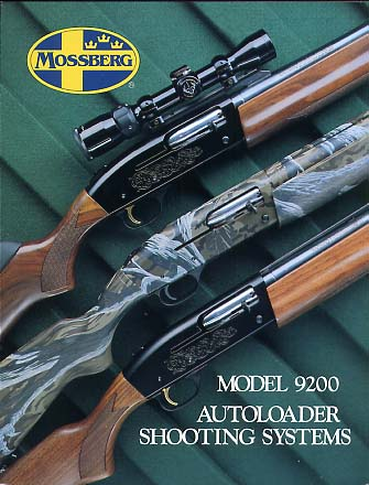 1993 Mossberg Model 9200 Catalog