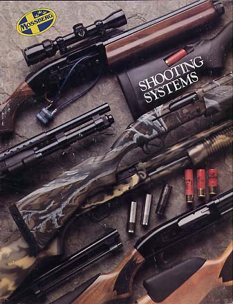 1993 Mossberg Firearms Catalog(no date)