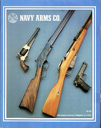 1989 Navy Arms Co.Catalog