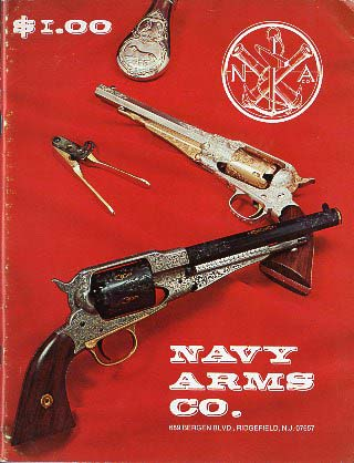 1972 Navy Arms Catalog