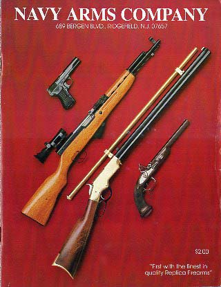 1991 Navy Arms Company Catalog