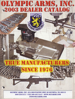 2003 Olympic Arms Inc. Catalog