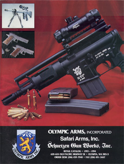 1993-94 Olympic Arms Inc. Catalog