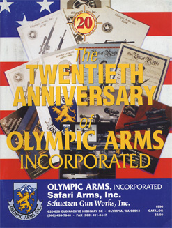 1996 Olympic Arms Inc. Catalog