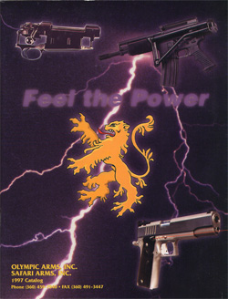1997 Olympic Arms Inc. Catalog