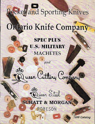 1996 Ontario Knife Co. Catalog