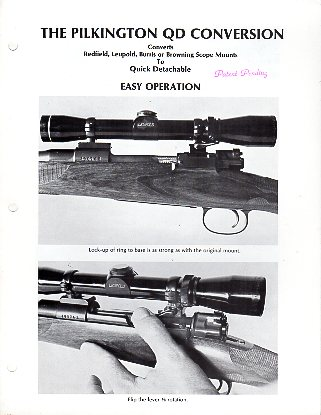1980 Pilkington QD Conversion Flyer/Folder