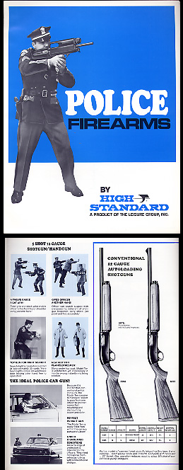 1969 High Standard Police Catalog