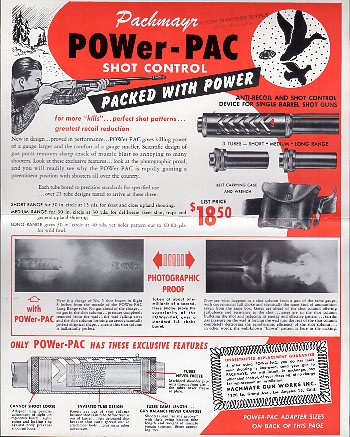 1960 Pachmayr Power-Pac Flyer