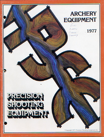 1977 PSE Archery Catalog