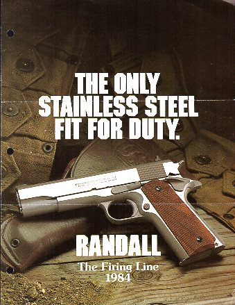 1984 Randall Firearms Catalog