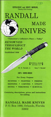 1980 Randall Made Knives Catalogue
