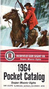 1964 Redfield Pocket Catalog