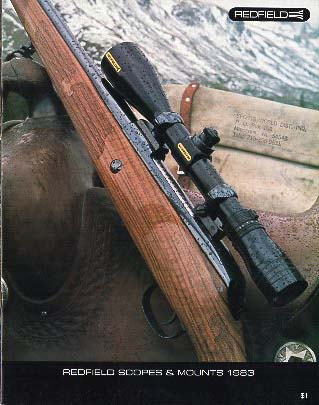 1983 Redfield Scope Catalog