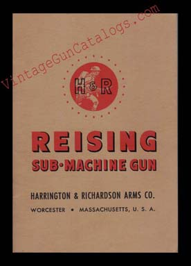 "1941 H&R ""Reising SMG"" Manual"