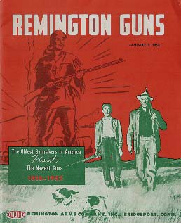 Remington, Vintage Gun Catalogs