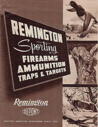1956 Remington Catalog