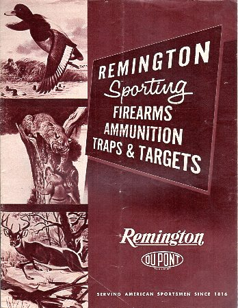 1957 Remington Catalog