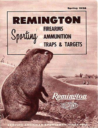 1958 Remington Spring Catalog