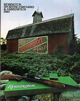 1983 Remington Catalog, Vintage Gun Catalogs