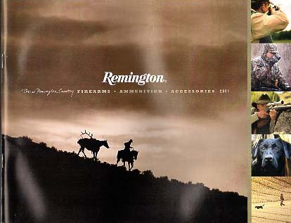 2001 Remington Catalog