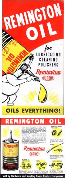 1947 Remington Oil Brochure