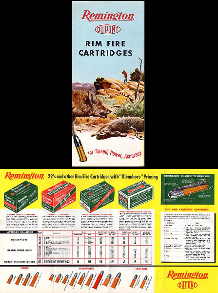 1953 Remington Rim Fire Cartridges