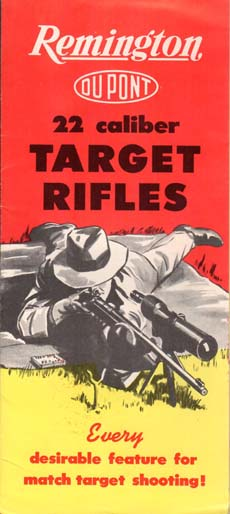 1940's Remington .22 Target Rifles Brochure