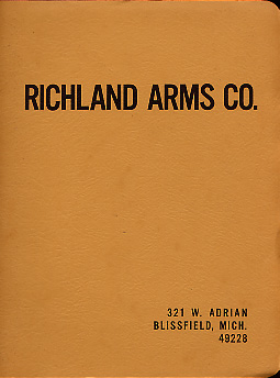 1980 Richland Arms Co. Catalog