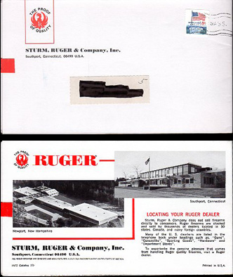 1972 Ruger Firearms Catalog C