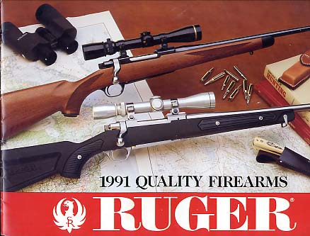 1991 Ruger LARGE Catalog