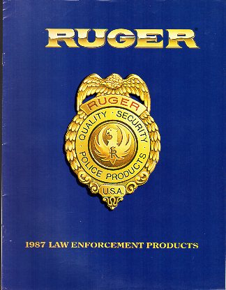 1987 Ruger Law Catalog