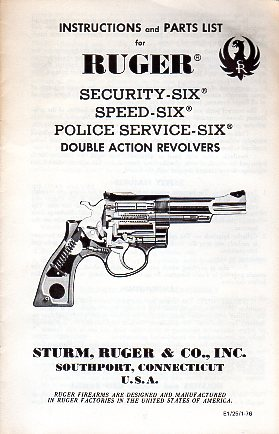 1976 Security-Six,Speed-Six & Police Serv.Six