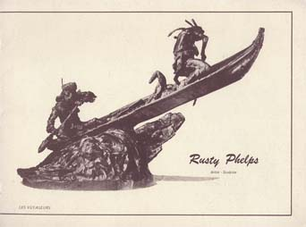 1970's Rusty Phelps Sculpture Catalog