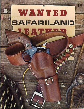 1973 Safariland Leather Catalog