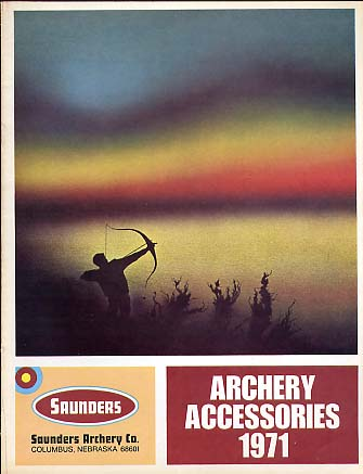 1971 Saunders Archery Acccessories Catalog