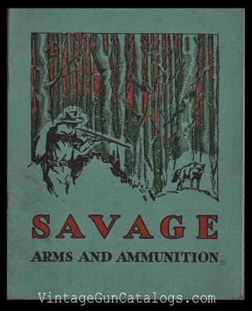 1931 Savage Catalog