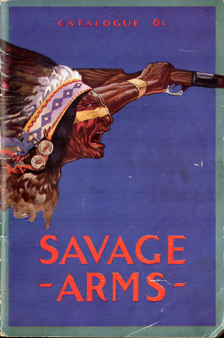 Circa-1930 Savage Catalog