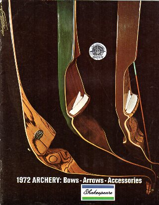 1972 Shakespeare Dealer Archery Catalog