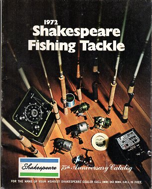 1972 Shakespeare Fishing Tackle Catalog