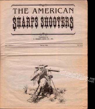 1984 C.Sharps Arms Co. Catalog