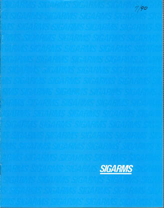 1990 SigArms Catalog