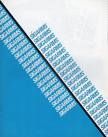 1993 Sigarms Catalog
