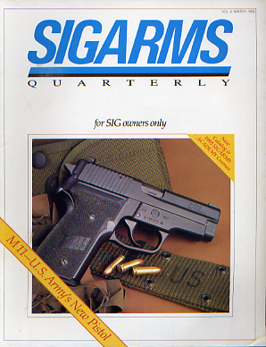 1993 Sigarms Quarterly Magazine-Winter