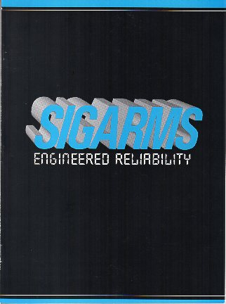 1994 Sigarms Catalog