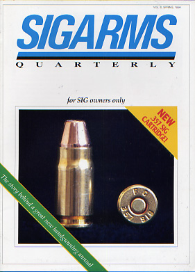1994 Sigarms Quarterly Magazine-Spring